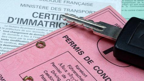 permis de conduire enregistré